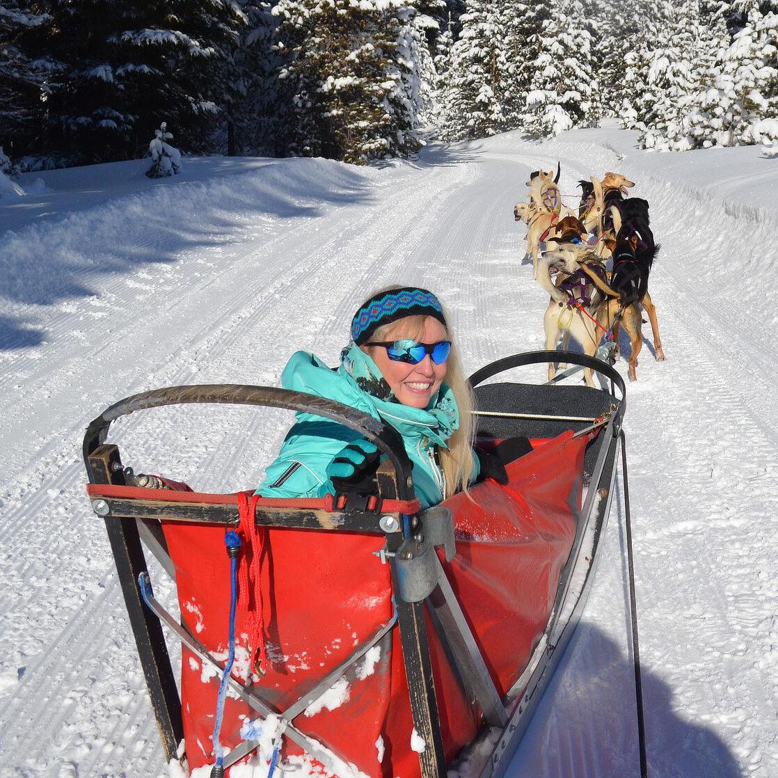 Patti Morrow Dogsleding